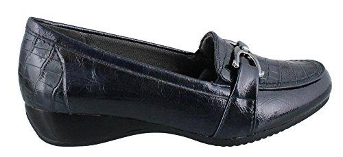 Slip Loafer On Navy Women's LifeStride Dempsey Tx6wf8znq