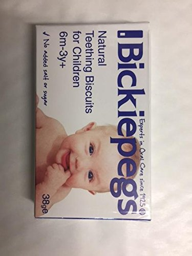 Bickiepegs Teething Biscuits 6mth+ (38g)