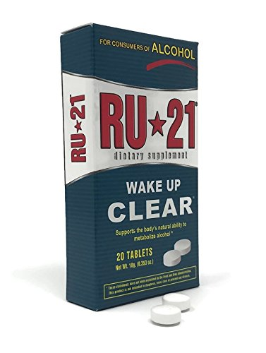 RU-21 Dietary Supplement, Direct from Manufacturer (20-Pill Pack)