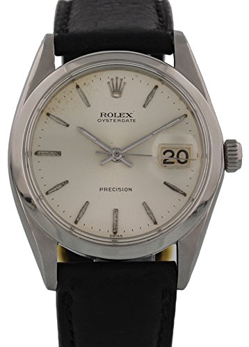 rolex-oysterdate-precision-mechanical-hand-wind-mens-watch-6694-certified-pre-owned