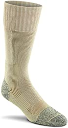 Military Wick Dry Maximum Mid Calf Boot Sock (2 Pack - Large SAND)