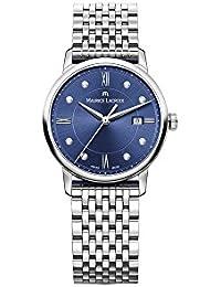 Women's Eliros Date 30mm Mother of Pearl Watch | Blue