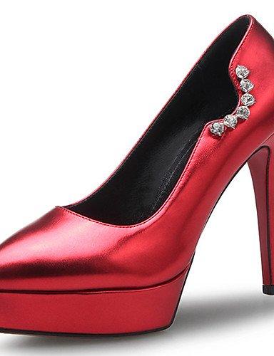 GGX/ Zapatos de mujer-Tacón Stiletto-Tacones / Plataforma / Innovador / Puntiagudos / Punta Cerrada-Tacones-Boda / Fiesta y Noche / Vestido- , gray-us8.5 / eu39 / uk6.5 / cn40 , gray-us8.5 / eu39 / uk gray-us4-4.5 / eu34 / uk2-2.5 / cn33