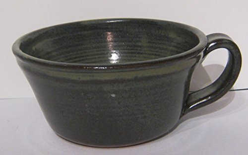 Handmade pottery bowl for soup, salad, chili, cereal and more. Handmade by Traditions Pottery.