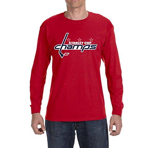 Tobin Clothing RED Washington Champions Long Sleeve Shirt Youth Large