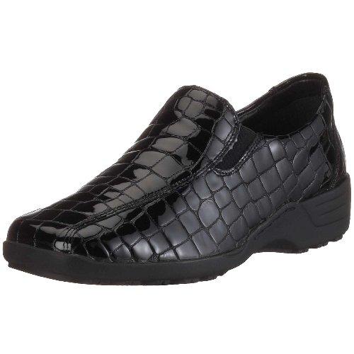 Noir Remonte Femme 6 v Pantoufles D0511 Basses chaussures Berta BKFqZwzB