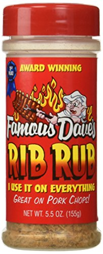 Famous Dave's Seasoning Rib Rub, 5.5-ounce (Pack of 3)