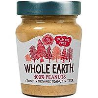 Crema BIO cacahuete crunchy Whole Earth 227 g