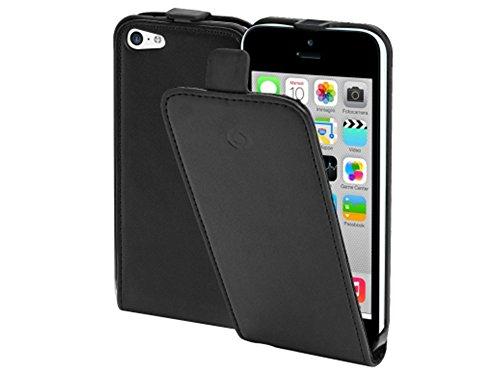 Celly Face360 Flip Case für Apple iPhone 5C schwarz