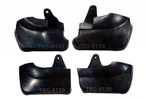 K1AutoParts Front & Rear Splash Guard Mud Flap Fender For (4WD) Isuzu D-Max Dmax Pickup 2003-2011
