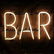 Bar Neon Sign Neon Sign USB Neon Room Night Light Bar Hotel Game Room Cocktail Beer Party Christmas Wedding Si