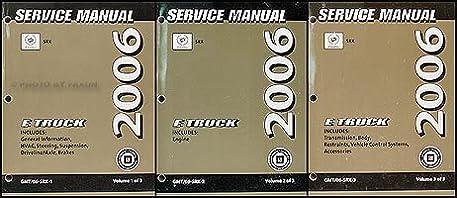 2006 cadillac srx repair shop manual original 3 volume set cadillac rh amazon com 2006 cadillac srx manual pdf 2006 cadillac srx repair manual pdf