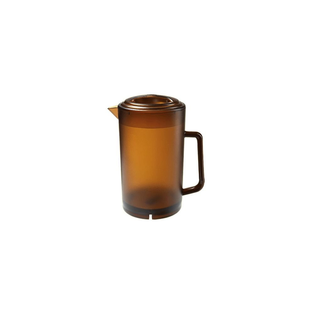 G.E.T. Enterprises P-3064-1-A 64 oz. Textured Pitcher, SAN, Orange (Pack of 12)