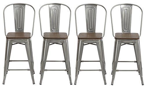 Metal Antique Bar Stools - BTEXPERT 24