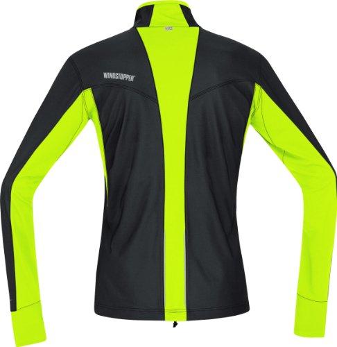GORE RUNNING WEAR Air Windstopper Chaqueta de Running, Hombre, (Black/Neon Yellow), S: Amazon.es: Zapatos y complementos