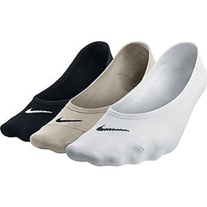 Nike Womens 3-Pack Multicolor Lightweight Footi Multi-Color SX4863-900 Size Medium