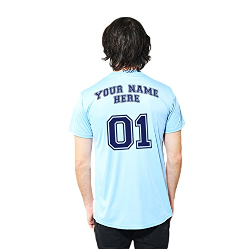 2fc31c140 Official Manchester City F.C. Football Personalised Customised T Shirt Your  Name and Number - Buy Online in Oman. | Apparel Products in Oman - See  Prices, ...