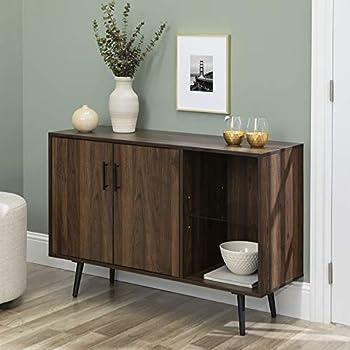 Amazon.com: Sauder New Grange Console, Vintage Oak finish