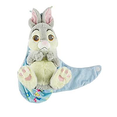 Disney Baby Thumper Bunny Rabbit from Bambi in a Pouch Blanket Plush Doll: Toys & Games