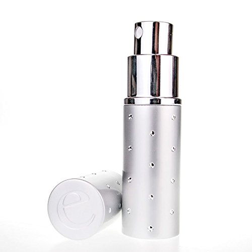 The Essential Atomizer Co. Silver Dot Spray Travel Atomizer. Capacity 10ml. Refillable, Includes Filling Funnel & Gift Box
