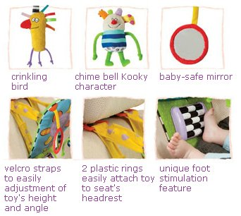 Taf Toys Feet Fun Baby Car Seat Toy by Taf Toys that we recomend individually.