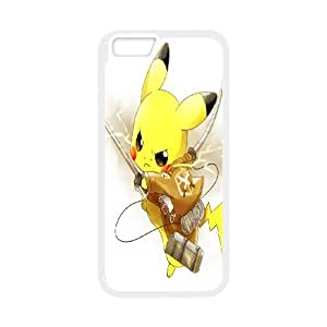 FOR Apple Iphone 6 Plus 5.5 inch screen Cases -(DXJ PHONE CASE)-Lovely Pikachu-PATTERN 6