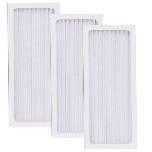 (HIFROM Replacement Air Purifier HEPA Filter for Hamilton Beach True Air Filter 04383 04384 04385 04386 Replace Part# 990051000, Allergen Air Filter Cleaner (3 Pack))