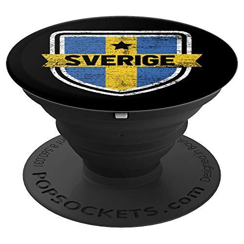 Sweden Pop Socket - Sverige Scandinavia Stockholm - PopSockets Grip and Stand for Phones and Tablets