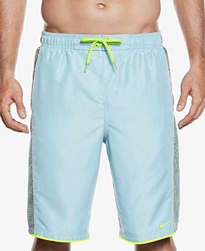 (Nike Men's Fuse Volley Shorts Size XL Mica)