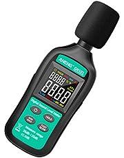 Hemobllo Digital Sound Level Meter Noise Measuring Tester DB Noise Volume Sensor Reader Device (Without Battery)