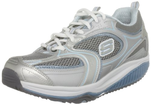 Skechers BKSL ups Accelerators Baskets Shape 12320 Argent mode femme XF XgrwXx7