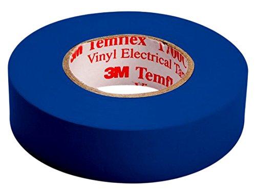 3 M tbla1510 TEMFLEX 1500 vinilo elé ctrico de cinta aislante, 15 mm x 10 m, 0,15 mm), color azul 15mm x 10m 15mm) 3M 7000062272