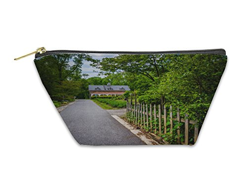 Gear New Accessory Zipper Pouch, Gardens And Building At Cylburn Arboretum In Baltimore Maryland, Large, - Stores Arboretum In