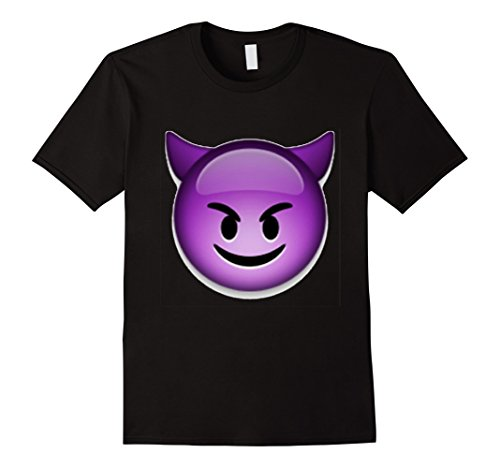 Men's Devil Emoji T Shirt