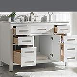 "LUCA Kitchen & Bath LC48PWW Tuscan 48"" Single"