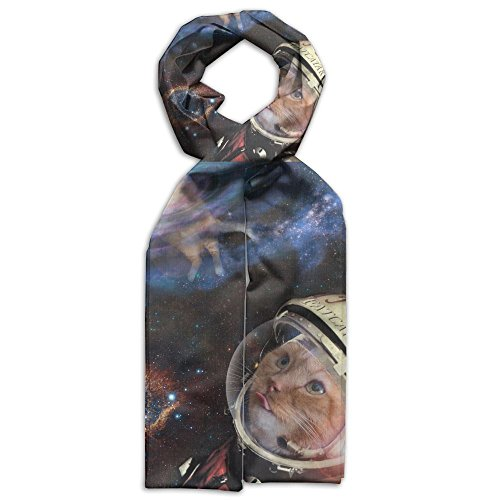 Explore Cats Humour Space Cat Winter Light.Lightweight Scarf Print Soft Warm Towel Smelless.New Style.Fashion.Fever Stylish Scarves Gift For Kids