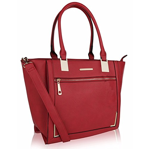 Designer by Mia Snazzy but Farrow Collection MKF Tote Classy Bag Red K qOx6xICwT