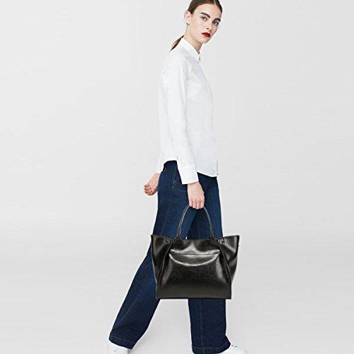 NICOLE for Ladies' Bags Shoulder Tote red amp;DORIS Purse Handle Match Handbags 2018 Satchel Women Wine Fashion Black Hobo New All rZ7zZ4wIq