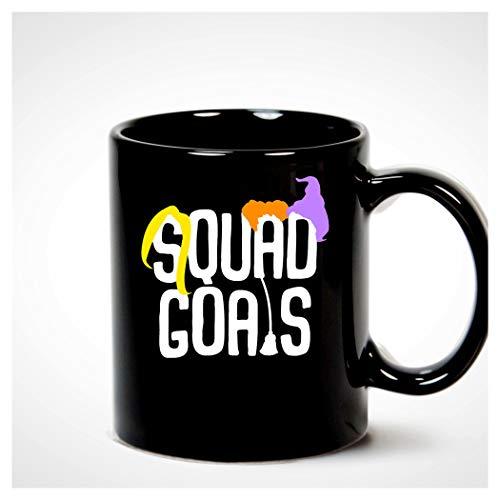 Hocus Pocus Squad Goals Witch Broom Mug -