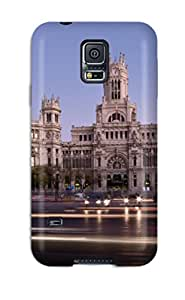 Snap On Case Cover Skin For Galaxy S5(madrid City)