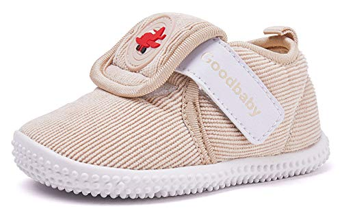 gb Infant Sneaker for Baby Boy Girl Lightweight Warm Winter Shoes 6-24 Months18FWLT003-140Camel ()