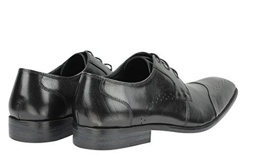 Xposed Zapatos Planos con Cordones Hombre, Color Blanco, Talla 41 EU