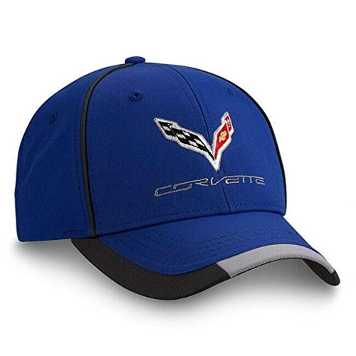 Corvette Royal Blue Performace Cap Chevy New! Chevrolet Hat! - Chevrolet Hat Corvette