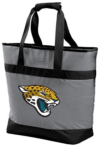 NFL 30 Can Soft Sided Tote Cooler, Jacksonville Jaguars