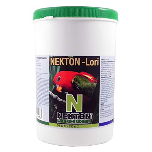 Nekton Lori Complete Lorikeet Diet Bird Food, 750G (1.65 Lb.)