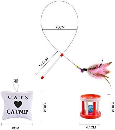 Jouets pour Chats Chat,20PCSJouets Kitten Toys,Jouets pour Chat Kitty,Jouets pour Chat Jouets Toys pour Chat, Cat Interactive Jouets