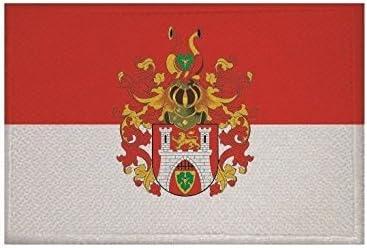 U24 Aufn/äher Hannover gro/ßes Wappen Fahne Flagge Aufb/ügler Patch 9 x 6 cm