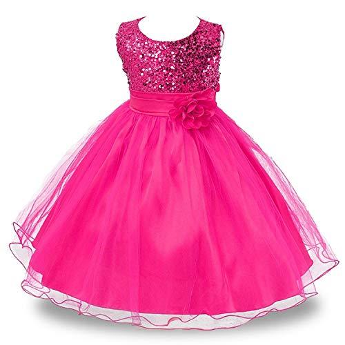 Party Dress for Girls Infant Lace Children Bridesmaid Elegant Dress,as images4,6]()