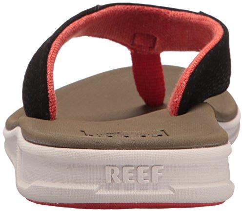 Sandali Mens Del Rover Reef   Sandali Sportivi Sportivi Per Uomo Tan / Marrone / Rosso