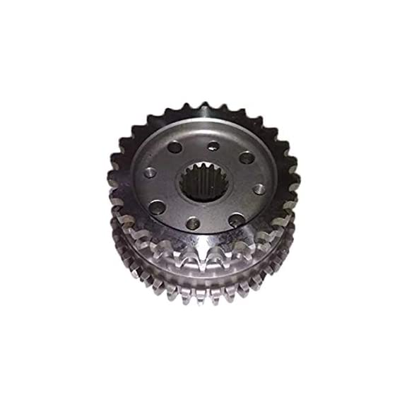 AllExtreme EXSCAR1 Heavy Duty Durable Self Gear Assembly Compatible with Royal Enfield Bullet Standard Electa Classic